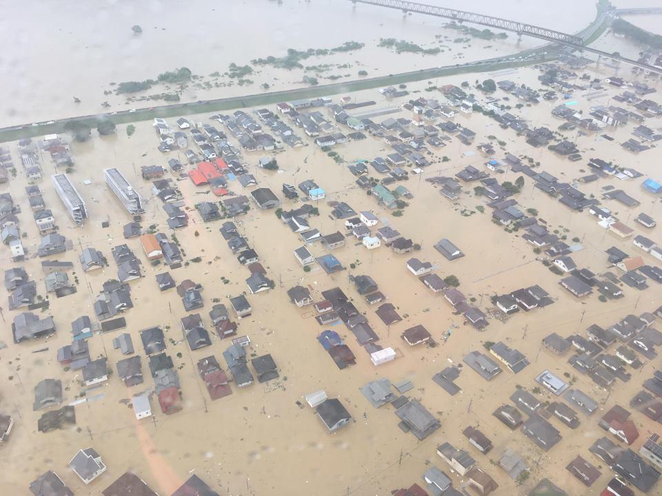 西日本豪雨災害 写真